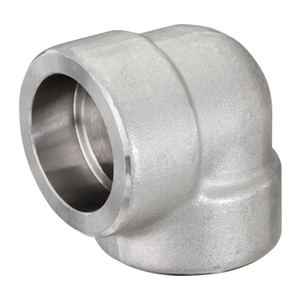1 in. Socket Weld 90 Degree Elbow 304/304L 3000LB Forged Stainless Steel Pipe Fitting