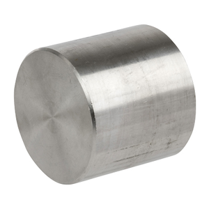 3 in. Threaded NPT Cap 304/304L 3000LB Stainless Steel Pipe Fitting
