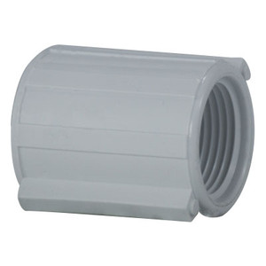 1/2 in. PVC Threaded Coupling, PVC Schedule 40 Pipe Fitting, NSF 61 Certified