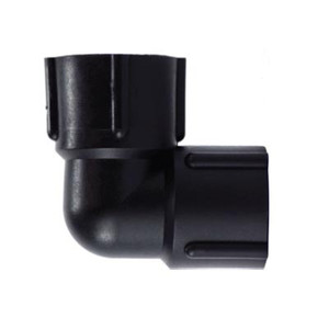 3/8 in. 90 Degree Elbow, Polypropylene Plastic Pipe Fitting, NSF & FDA Approved