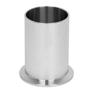 1-1/2 in. Tank Ferrule - Light Duty (14WLMP) 304 Stainless Steel Sanitary Clamp Fitting (3A) View 1