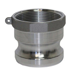 3/4 in. Type A Adapter Aluminum Male Adapter x Female NPT Thread, Cam & Groove/Camlock Fitting