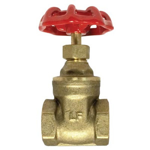 1/4 in. 200WOG, FIP, Gate Valve, Lead Free Brass