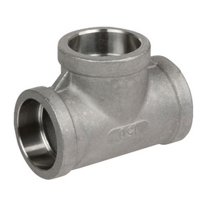 1/2 in. Pipe Fitting Stainless Steel Socket Weld Tees 304SS 150 PSI