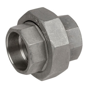 1/2 in. Pipe Fitting Stainless Steel Socket Weld Unions 304SS 150 PSI