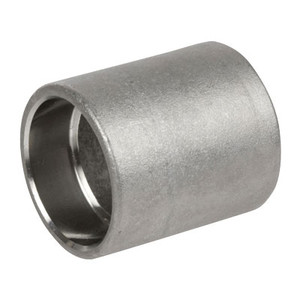 1/2 in. Pipe Fitting Stainless Steel Socket Weld Pipe Full Couplings, Cast 150# 304SS