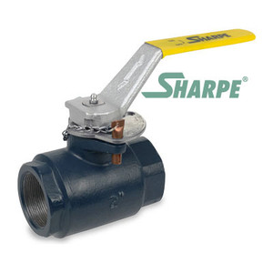 2 in. Carbon Steel 5000 psi Standard Port Threaded Ball Valve - Series SVOP54CE6DV
