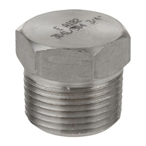 1/8 in. 1000# Stainless Steel Pipe Fitting Hex Head Plugs 304 SS NPT Threaded