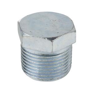 1/8 in. Threaded Galvanized Merchant Steel Hex Head Plug 150# Pipe Fitting