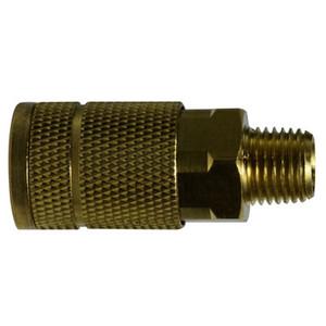 1/8 in. MNPT 250 PSI Brass Parker Interchange Tru- Flate Male Coupler
