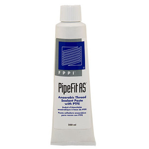 PipeFit® AS Thread Sealing Paste Anaerobic with PTFE, 250 ml