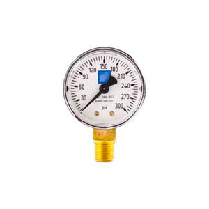 "Fire Sprinkler Residential Pressure Gauge, 2"" Dial, 0-300 psi (Non-UL/FM)"