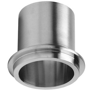 1 in. Male I-Line Rubber Hose Adapter 304 Stainless Steel Sanitary Pipe Fitting