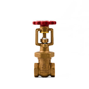 1 in. NPT Bronze TrimFit® OS&Y Fire Main Gate Valves, 175CWP, UL/FM