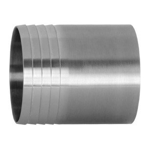 1/2 in. Weld Hose Adapter - 14WHR - 316L Stainless Steel Sanitary Polished Butt Weld Fitting