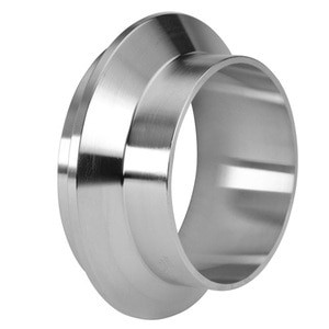 1 in. Male I-Line Short Weld Ferrule (14WI) 304 Stainless Steel Sanitary I-Line Fittings (3-A)