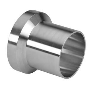 1 in. Female I-Line Long Weld Ferrule (15WLI) 304 Stainless Steel Sanitary I-Line Fittings (3-A)