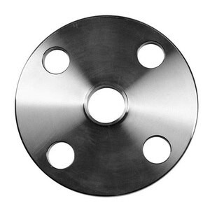 1 in. Unpolished Weld Neck Flanges - 38W - 316L Stainless Steel Sanitary Flange