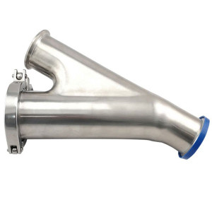 1-1/2 in. Y-Ball Check Valve (45BY) Polished 316L Stainless Steel Sanitary Valve