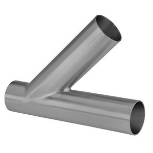 1 in. Unpolished Weld Lateral - 28WA-UNPOL - 316L Stainless Steel Tube OD Fitting