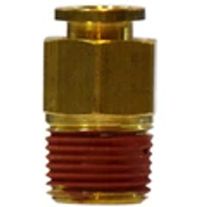 Brass Push-In/Push-to-Connect Tube Fittings