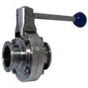 Tri-Clamp Butterfly Valves Pull Trigger