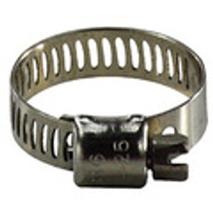 Marine Worm Gear Hose Clamps Stainless Steel