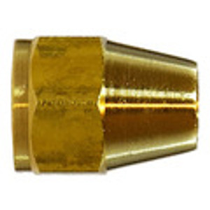 Short Rod Nuts Brass SAE 45 Flare