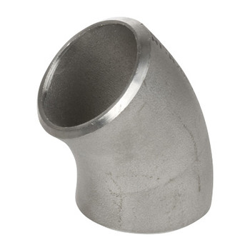 10 in. 45 Degree Elbow - SCH 40 - 316/16L Stainless Steel Butt Weld Pipe Fitting