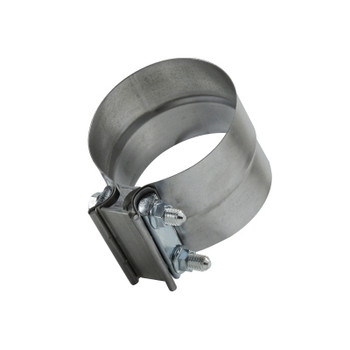 2.50 in. Aluminized Steel Lap Exhaust Hose Clamp