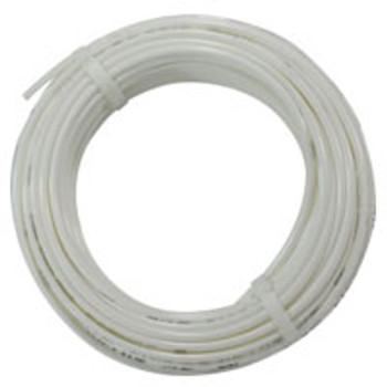 1/4 in. OD Linear Low Density Polyethylene Tubing (LLDPE), White, 100 Foot Length, Working Pressure 150