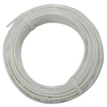 1/4 in. OD Linear Low Density Polyethylene Tubing (LLDPE), White, 100 Foot Length, Working Pressure 150