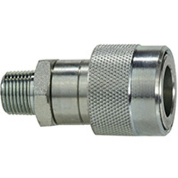 3/8 in. Hydraulic Thread Lock Male Jack Coupler Quick Disconnects