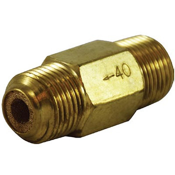 1/8 in. Nipple Inline Filter, Brass Body, Max Operating Pressure: 300 PSI