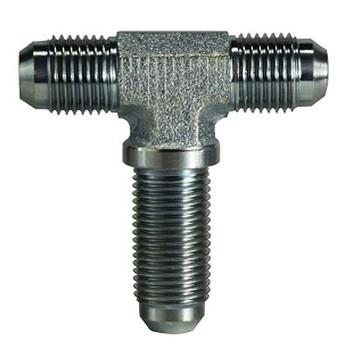 7/16-20 JIC x 7/16-20 JIC Steel Bulkhead Branch Tee