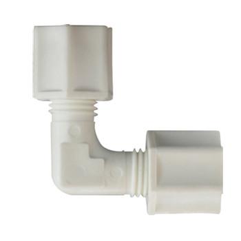 1/2 in. Polypropylene Compression Union Elbow, FDA & NSF Listed