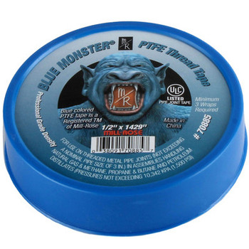 Blue Monster PTFE Thread Seal Tape 3/4 in. x 1429 in. Single Roll