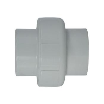 1-1/2 in. PVC Slip x Slip Union, PVC Schedule 40 Pipe Fitting, NSF 61 Certified