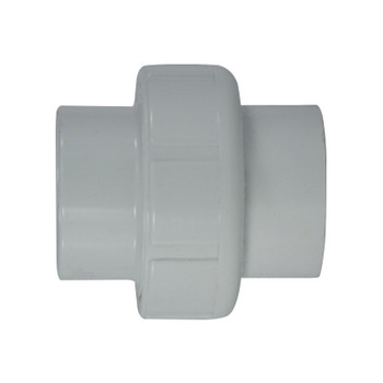 1-1/2 in. PVC Slip x Slip Union, PVC Schedule 40 Pipe Fitting, NSF 61 Certified