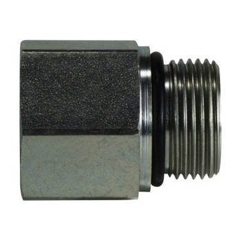 3/8 in. Female Adapter BSPP Steel Hydraulic Adapter
