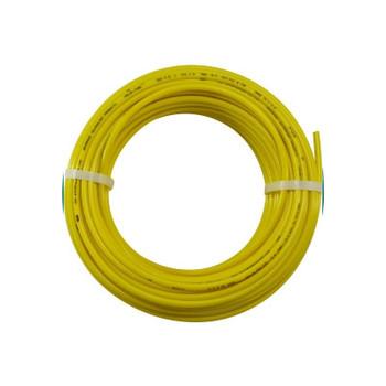 1/2 in. OD Linear Low Density Polyethylene Tubing (LLDPE), Yellow, 100 Foot Length