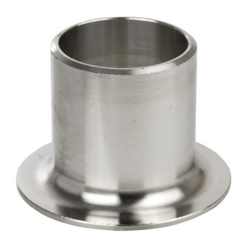 1 in. Stub End, SCH 10 MSS Type A, 316/316L Stainless Steel Weld Fittings