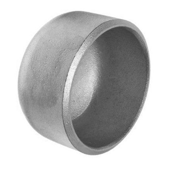 2-1/2 in. Cap - Schedule 80 - 304/304L Stainless Steel Butt Weld Pipe Fitting