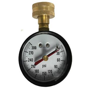 Gas Test Gauges with Lazy Hand Pneumatics