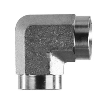 3/8 in. x 3/8 in. Threaded NPT Female 90 Degree Elbow 4500 PSI 316 Stainless Steel High Pressure Fittings
