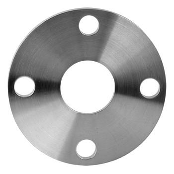 4 in. Slip-On Tube Flange - Machine Finish (38SL) 304 Stainless Steel Sanitary Flange