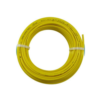 1/4 in. OD Linear Low Density Polyethylene Tubing (LLDPE), Yellow, 100 Foot Length, Working Pressure 150
