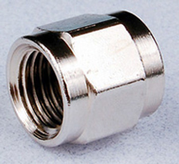 Nuts - 1/4 in. (7/16-20) Threads, 0.56 in. (14.2mm) Width, Brass for 5/16 in. stem