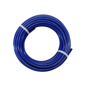 3/8 in. OD Polyurethane Blue Tubing, 100 Foot Length