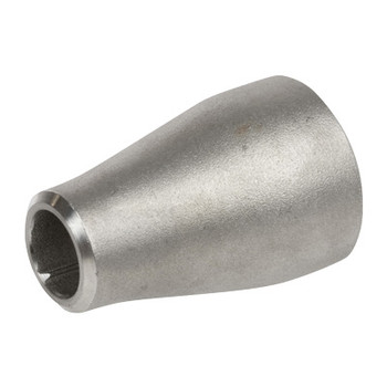 3/4 in. x 1/2 in. Concentric Reducer - SCH 80 - 316/316L Stainless Steel Butt Weld Pipe Fitting